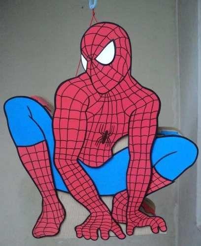 El hombre araña en goma eva - Imagui