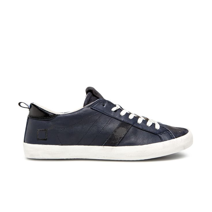 D.A.T.E. Fall Winter 2015-16 // Hill Low Nappa Blu. Shop at:http://bit.ly/1OrBP65 #datesneakers