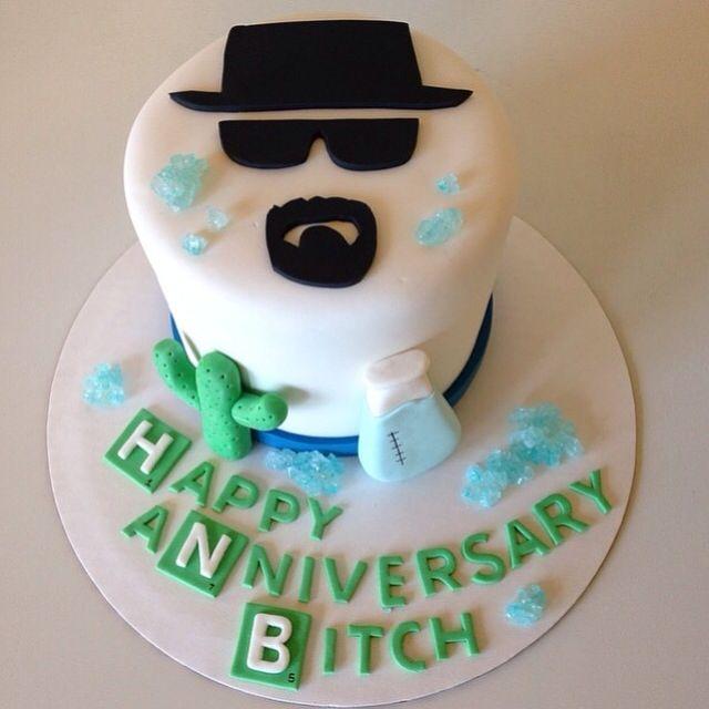 Breaking Bad cake by Kristy Dax | cakesbykristy.com