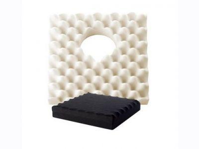 Μαξιλάρι καθίσματος κατακλίσεων με κυψέλες και οπή [X.635]