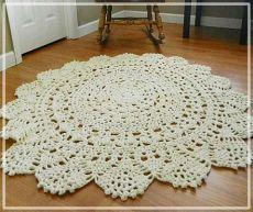 Царские круглые коврики - салфетки в современном интерьере | Уют и тепло моего дома