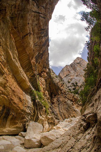 Gorropu Gorge, Sardinia, Italy