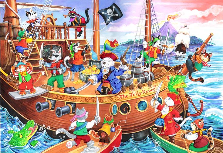 praatplaat piraat
