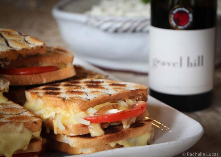 Grilled Cheese Sandwich – South African Style ~ Traditional braai-broodjes also often have some kind of chutney. Try Mrs. Ball's chutney (from World Market)