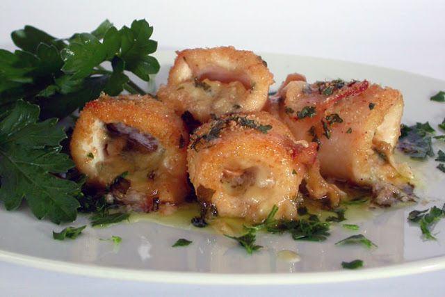 Appunti di cucina di Rimmel: Calamari gratinati