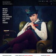 Massimo Giordano website