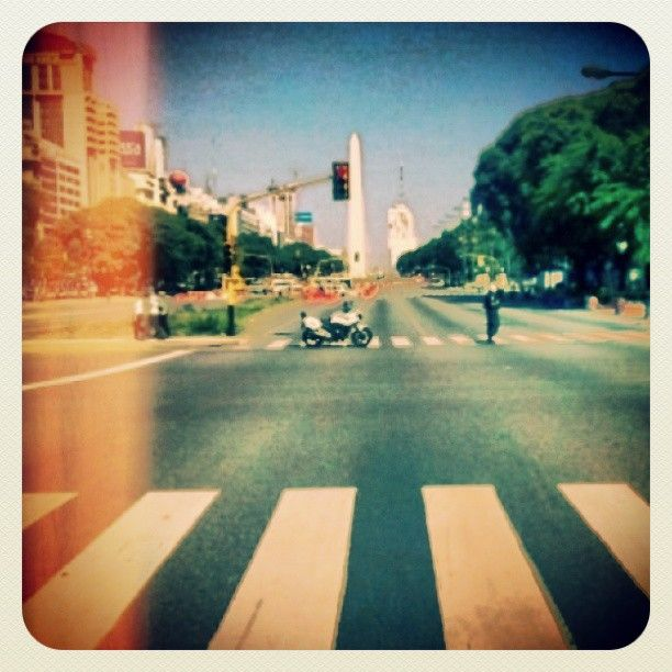 .@Afra Delgiorgio   Obelisco, Avenida 9 de Julio, Buenos Aires, Argentina. #argentina #buenosaire...   Webstagram - the best Instagram viewer