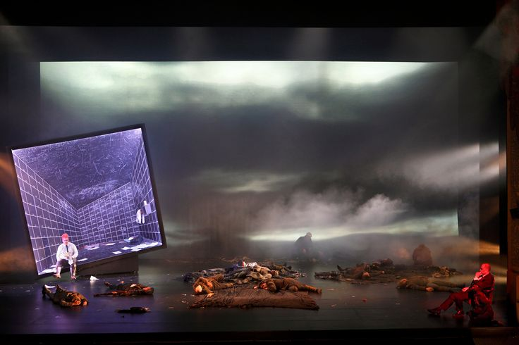 The Damnation of Faust from the English National Opera. Production by Terry Gilliam. Sets by Hildegard Bechtler.