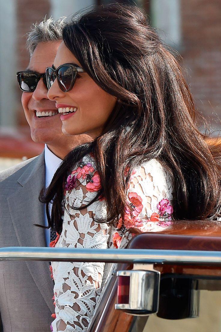 Amal Clooney Celebrity Beauty Inspiration Harper S