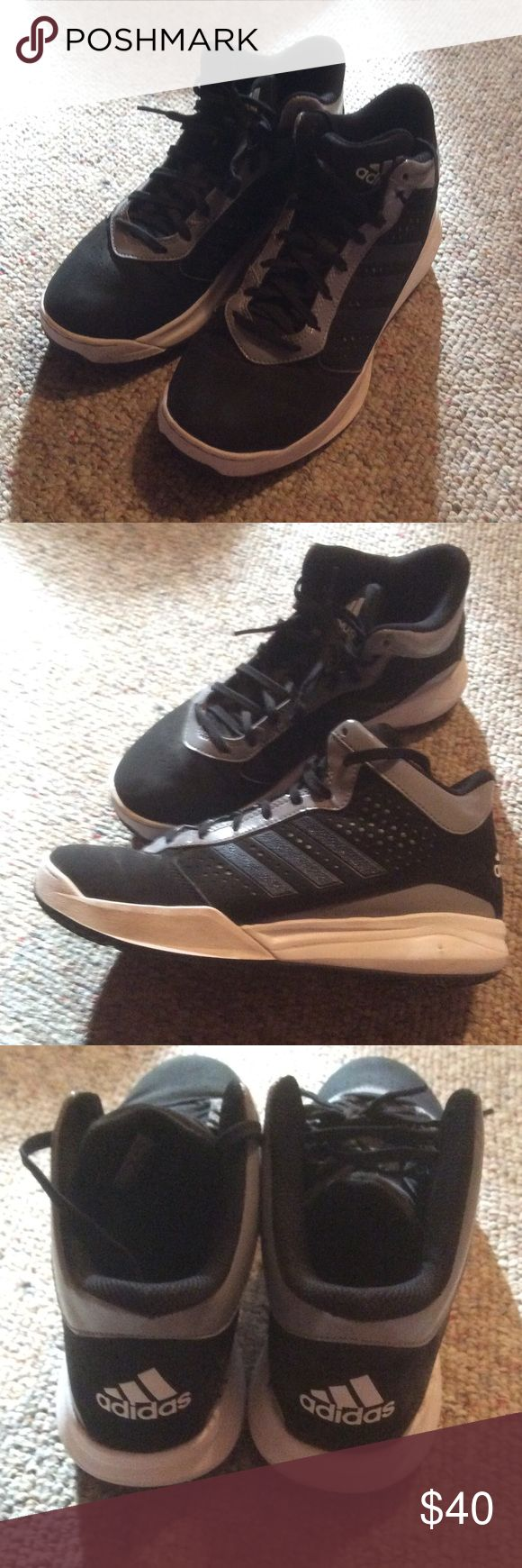 Boys Adidas Basketball Shoes - Size 7 Boys Adidas Basketball Shoes - Size 7. Only worn a couple of times. In excellent condition. From a smoke-free and pet-free home. Adidas Shoes Sneakers