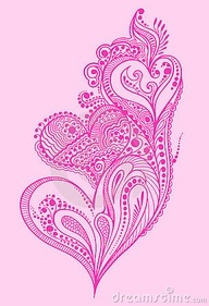 paisley heart tattoo - Google Search
