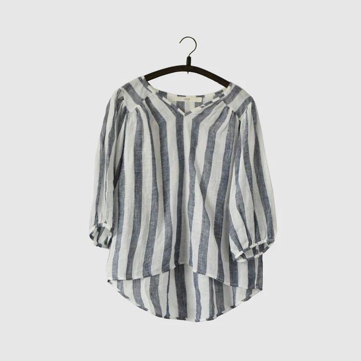 Stripe causal Tshirt