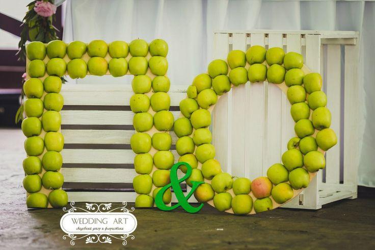 Зеленая свадьба - Свадебный декор и флористика Wedart.com.ua