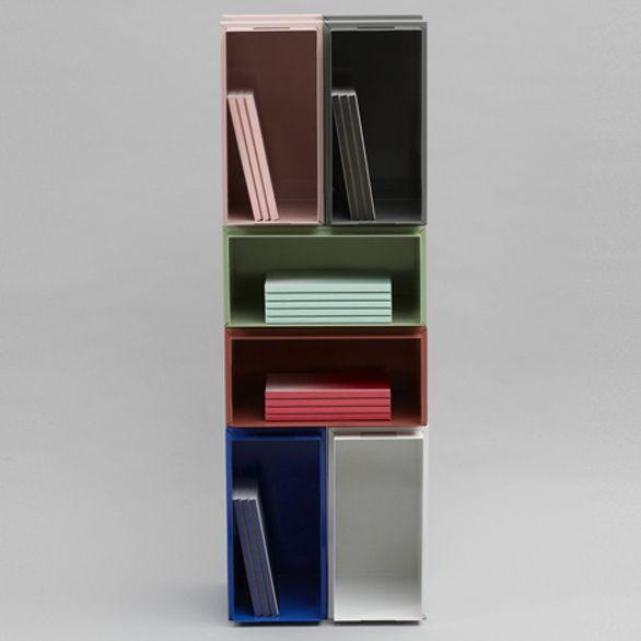 Color Box, la libreria per riporre con stile i faldoni da ufficio
