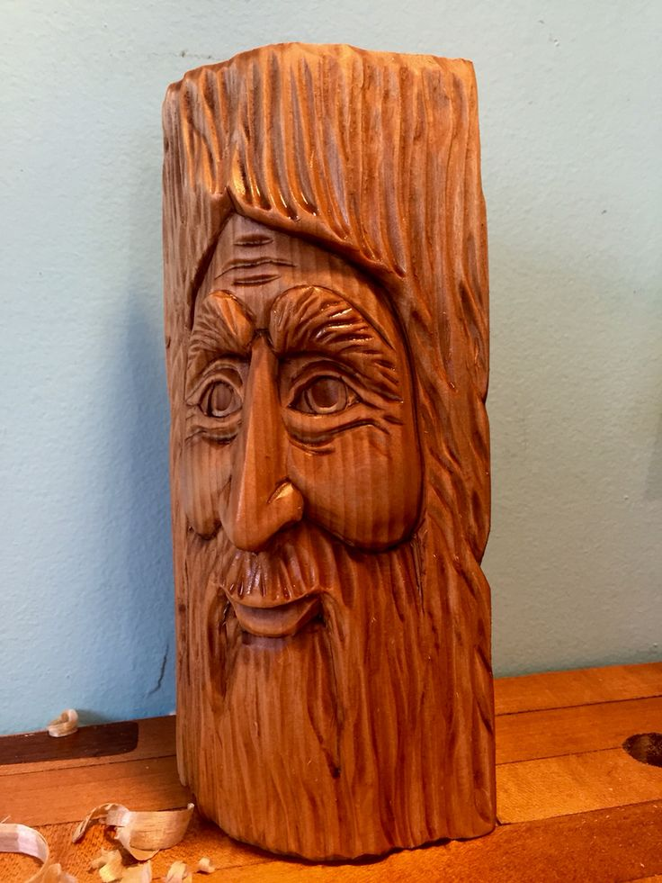 The woodspirit i teach at lee valley tools hand carved by