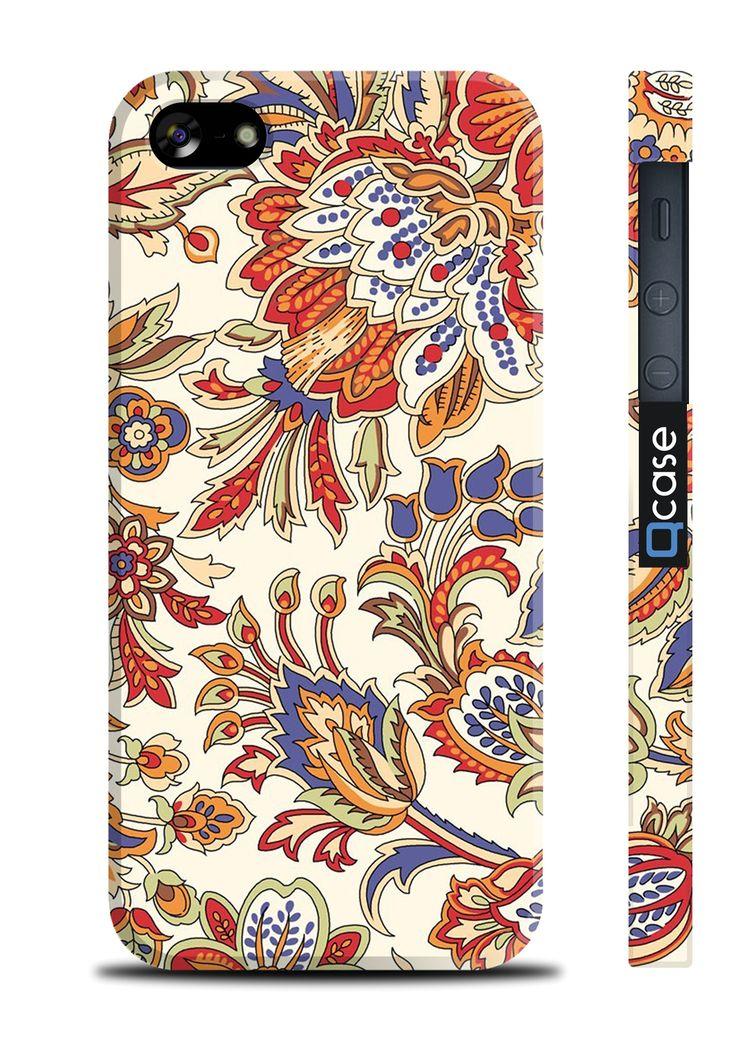 Чехол QCase для iPhone 5 | 5S Spring / Весна (пластиковый чехол, защитная пленка, заставка) купить в интернет-магазине BeautyApple.ru.