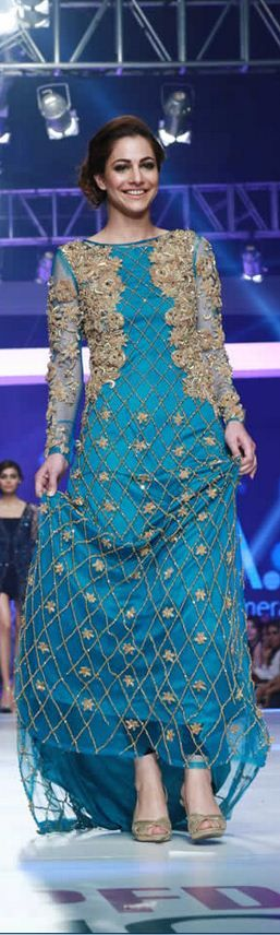 Syeda Amera 'World of Sea' Collection at PFDC Sunsilk Fashion Week 2015