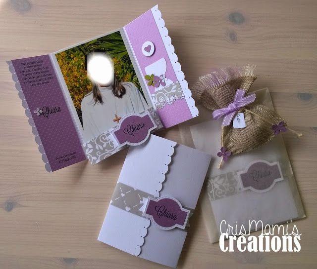 CrisMami's Creations: Una Prima Comunione...a 16 mani!