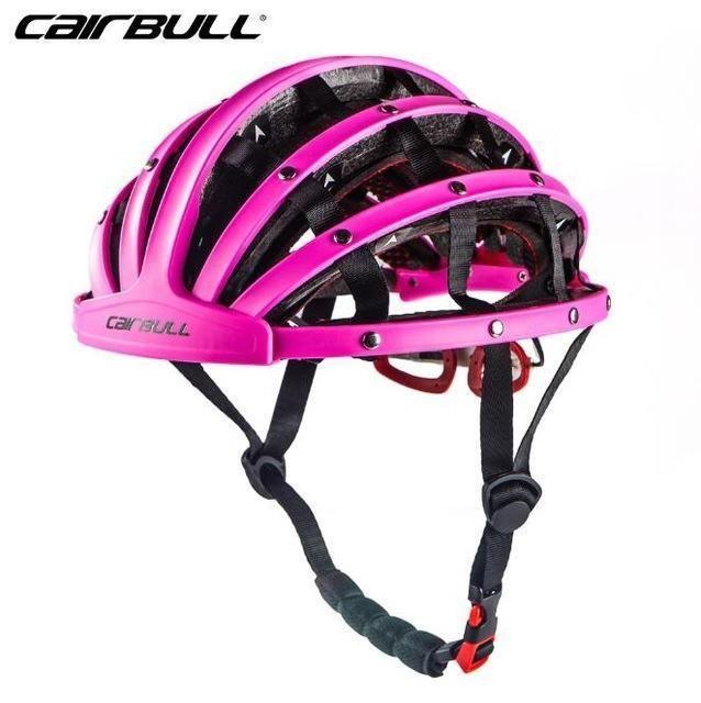Cairbull Foldable Cycling Helmet Portabel Ultralight Road Bike Helmet Unisex Outdoor Sports Bicycle Cycling Helmet Foldable Bicycle Bicycle