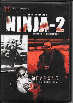 BRAD CHRISTIAN NINJA 2 DVD VOL 2 STEALTH SERIES WEAPONS Collectibles:Fantasy, Mythical & Magic:Magic:Tricks www.webrummage.com $24.99