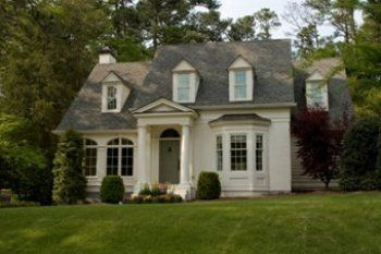 Best 20 cape cod houses ideas on pinterest cottage home for Dormered cape