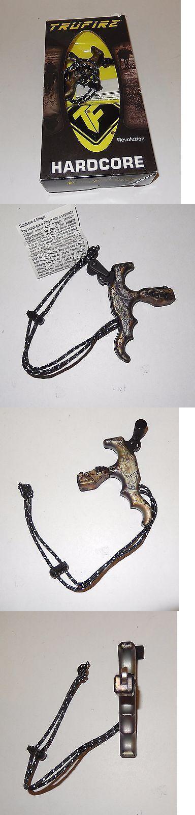 Other Archery Accessories 181306: Tru-Fire Hardcore 4 Finger Revolution Archery Release, Camo -> BUY IT NOW ONLY: $104.99 on eBay!