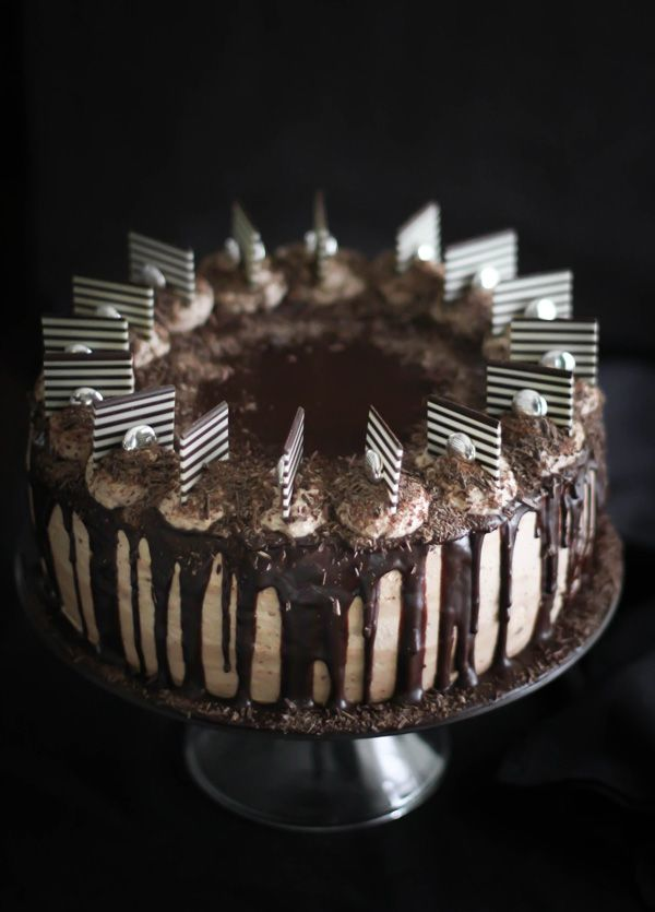 Seven sins chocolate cake = <3: Sin Cakes, Sprinkles Baking, Food, Chocolates Cakes Recipe, No Chocolates, Cakes Formysweettooth, Sweet Tooth, The Challenge, Chocolate Cakes