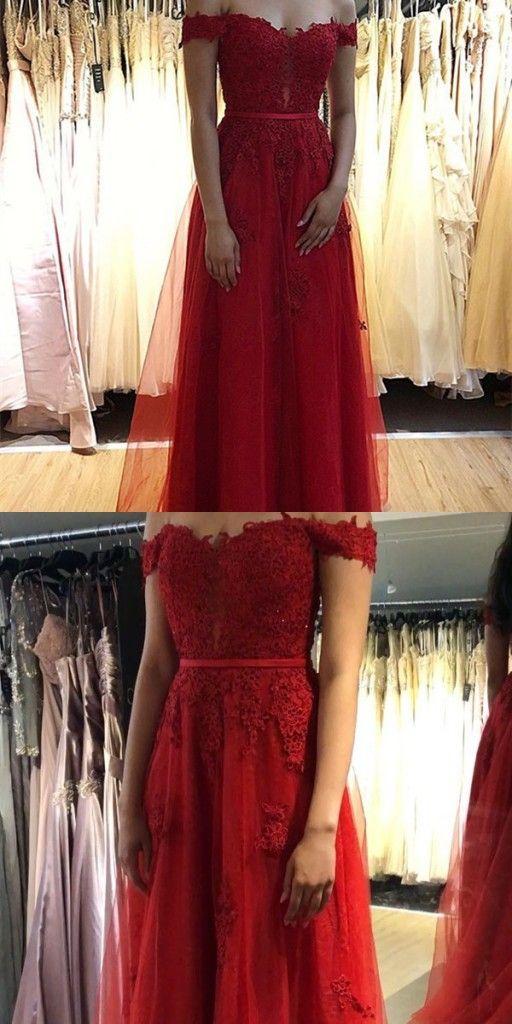 Fashion Abendkleider Lang Rot Spitze | Abendmoden Online ...