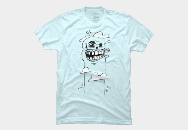Cloudy Skull Men's T-Shirt, also on hoodies, phone cases and art prints.