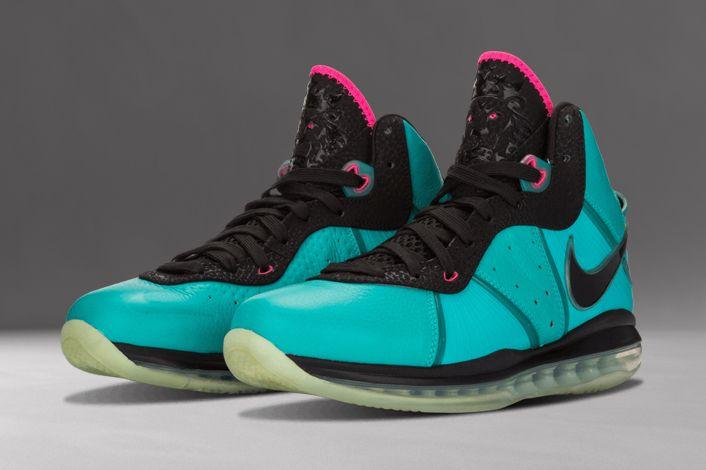 Nike LeBron 8 South Beach 2010 417098