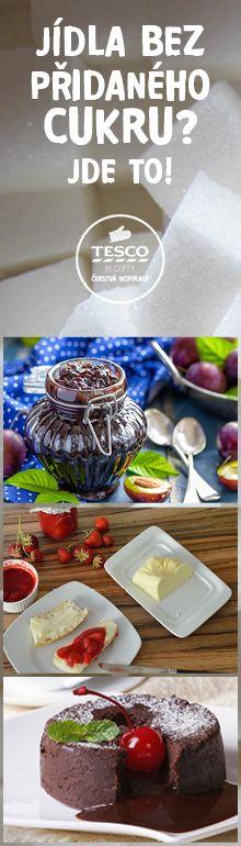 Jídla bez přidaného cukru? Jde to. Inspirujte se našimi recepty!