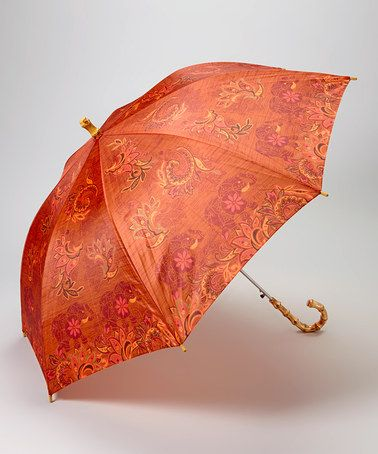 Look what I found on #zulily! Rusty Orange Elephant Umbrella by Karma #zulilyfinds