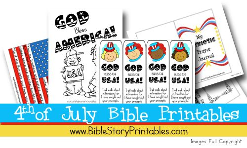 fourth of july bible crafts