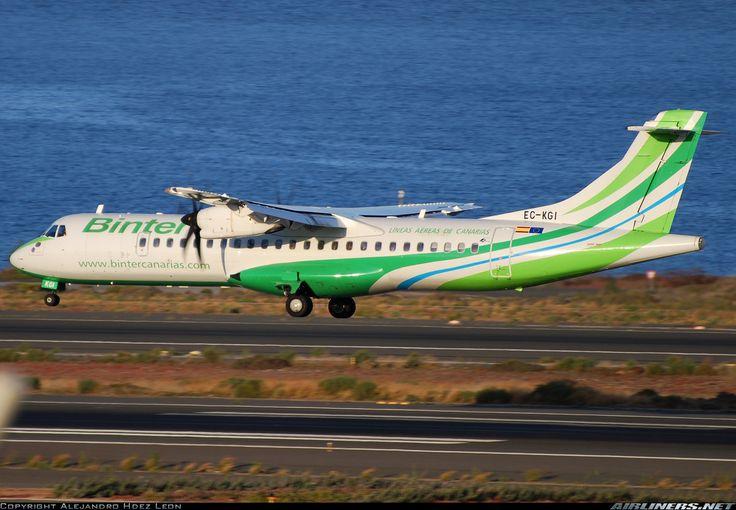ATR ATR-72-500 (ATR-72-212A) - Binter Canarias (Naysa - Navegacion y Servicios Aereos Canarios)   Aviation Photo #1531954   Airliners.net