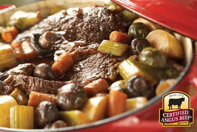 Braised Pot Roast With Root Vegetables, from the Certified Angus Beef® brand ǀ CertifiedAngusBeef.com