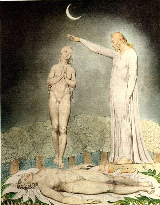 What were William Blake's views on the churches?