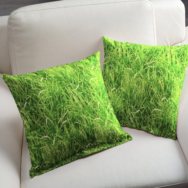 Green Grass - gräsgrönt - Fotboll - Tyger - Flora & fauna - Trädgårdsvärld - Tyger - Övriga dekotyger - Påsktyger - tyg.se