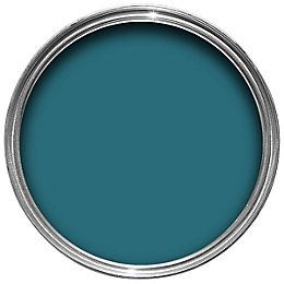 Dulux Once Teal Tension Matt Emulsion Paint 2.5L   Departments   DIY at B&Q