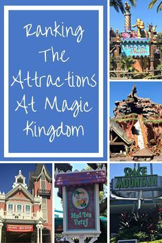 Being Florida resident season pass holders at Disney World means we make lots of trips to visit the parks. We thought it would be fun to put together a ranking guide for the attractions in terms of the ones we like best and recommend accordingly. Here is