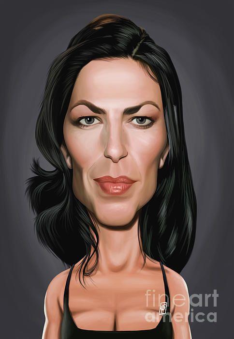 Claudia Black art | decor | wall art | inspiration | caricature | home decor | idea | humor | gifts