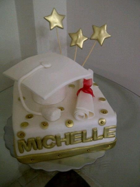 torta de graduacion de mi bella hija