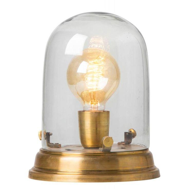 Edison Table Lamp H30cm Ø19cm, Brass - Watt&veke - Watt & Veke - RoyalDesign.com