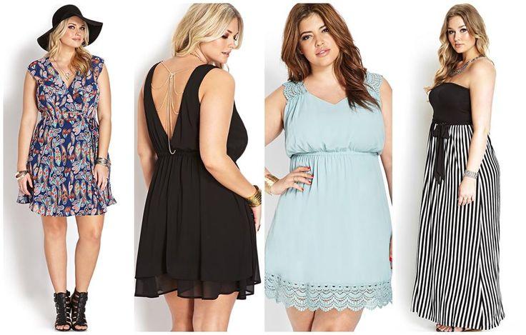 vestidos forever 21 tallas grandes plus size gorditas verano