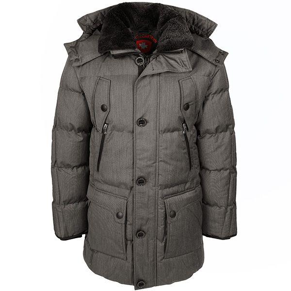 Wellensteyn Herren Jacke / Form: Centurion / Farbe: grau-beige / aus dem Wellensteyn Online Shop