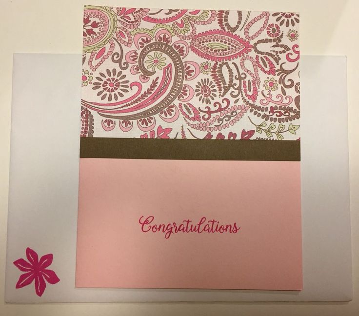 Congratulations Greeting Card with Envelope  | eBay
