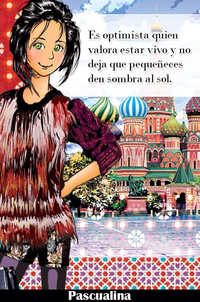 el optimista vive tranquilo Comic book cover, Comic