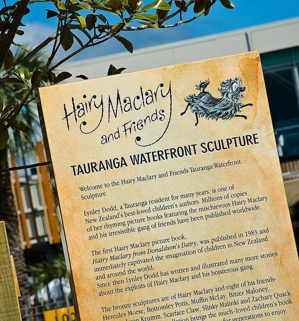 Hairy Maclary Sculpture Park Bay of plenty New Zealand