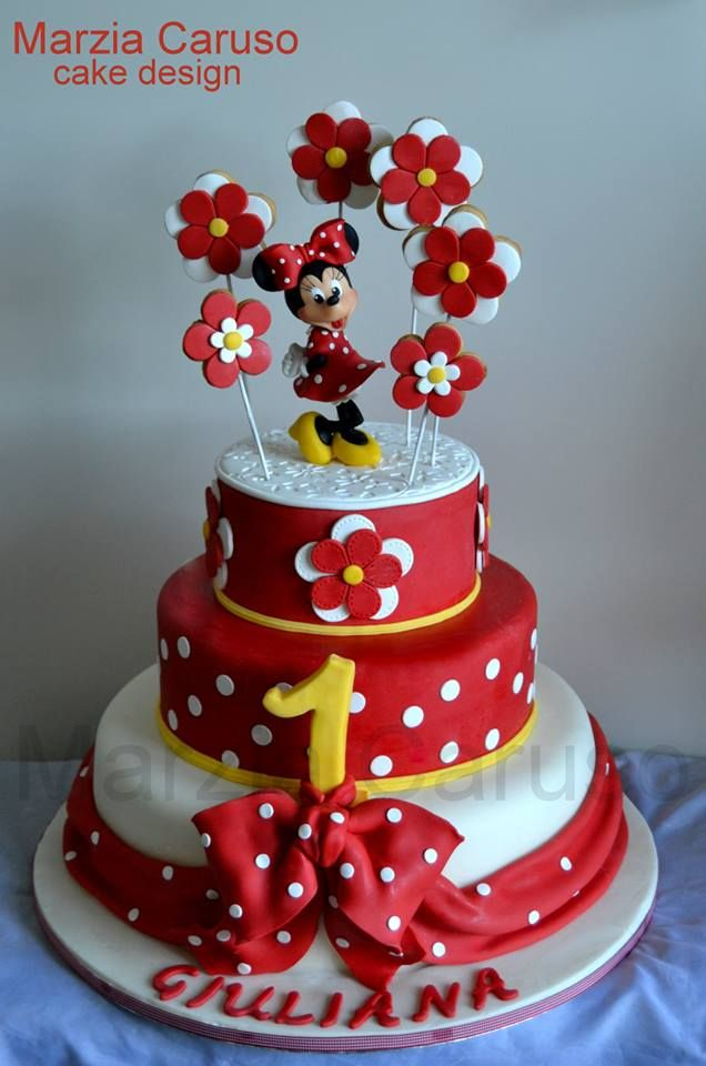 10+ images about Disney - Mickey & Minnie Cakes on ...