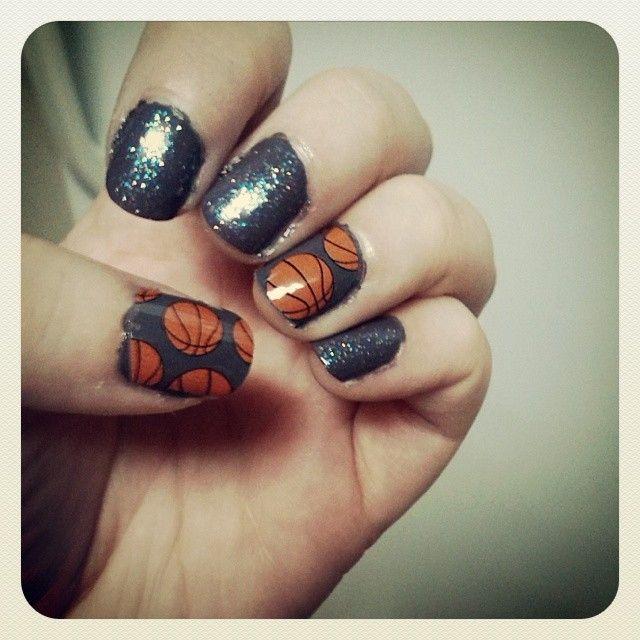 Best 25 basketball nails ideas on pinterest cal basketball sporting basketball nails prinsesfo Choice Image