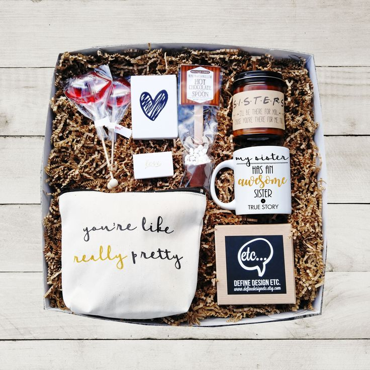 The perfect Holiday gift box!! Our Etc Box, Sisters Edition contains all of our best sellers and a few lovely extras. Sure to be loved! All of your products come in a beautiful gift box, tied with a b